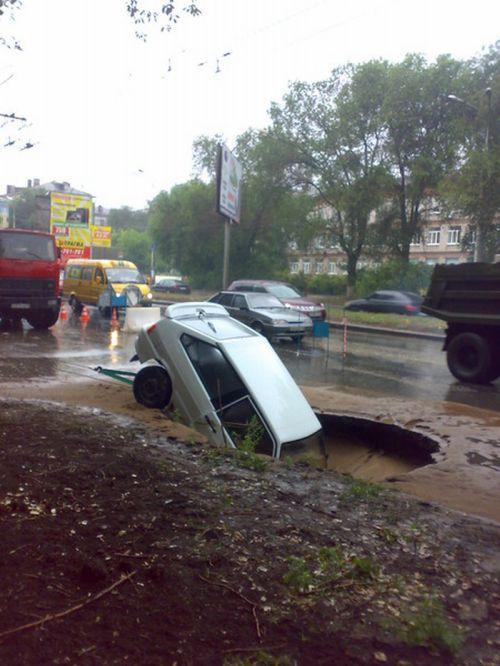 Landslide in Samara 3