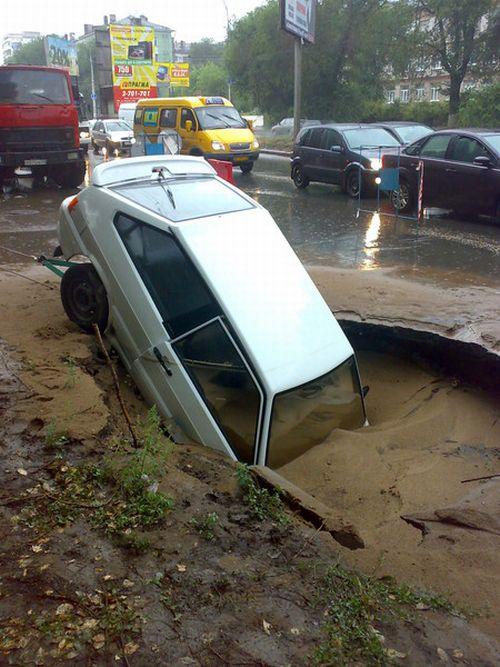 Landslide in Samara 4