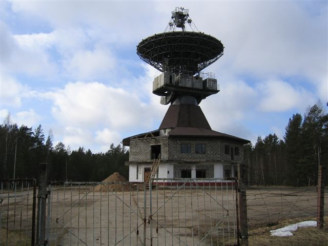 Old Russian radars in Latvia 12