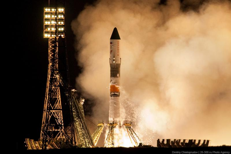 Baikonur, Launch of \