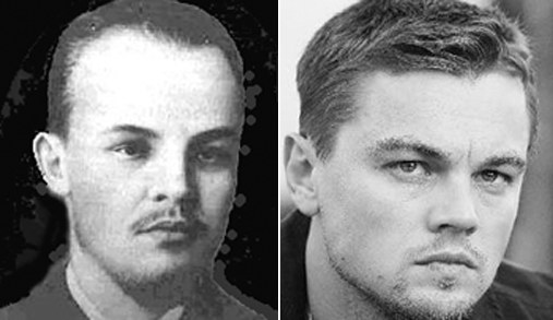 Lenin and Leonardo Di Caprio