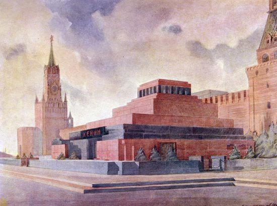lenin\'s mausoleum 1