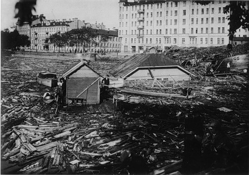 Leningrad. Flood on September 23, 1924 6