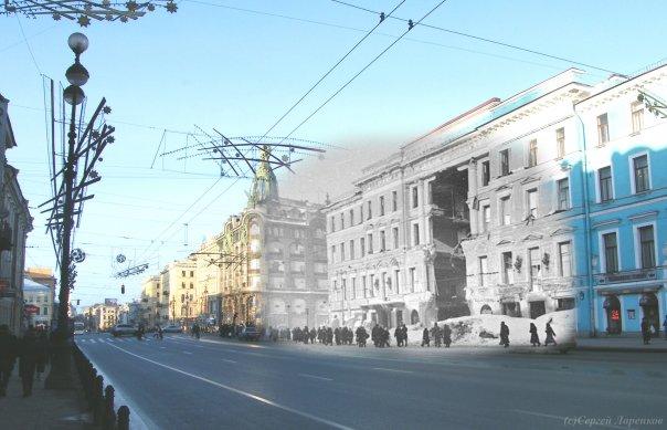 Siege of Leningrad, Russia 1