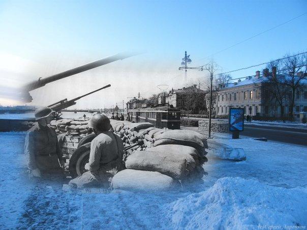 Siege of Leningrad, Russia 14