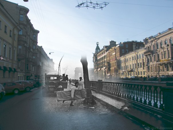 Leningrad Siege: Now and Then