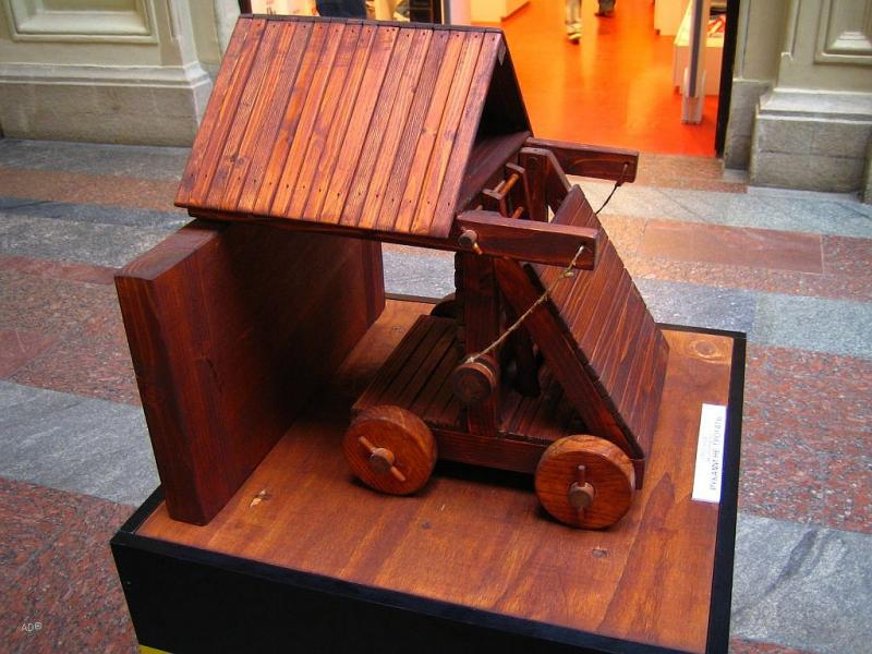 Leonardo Da Vinci Exhibition in Moscow 12