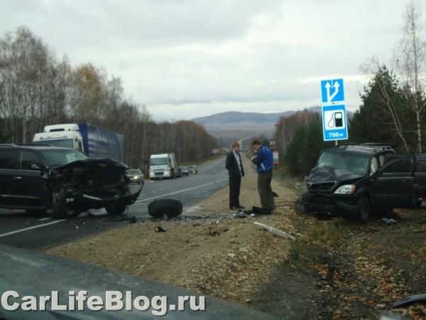 Lexus crash in Russia 6