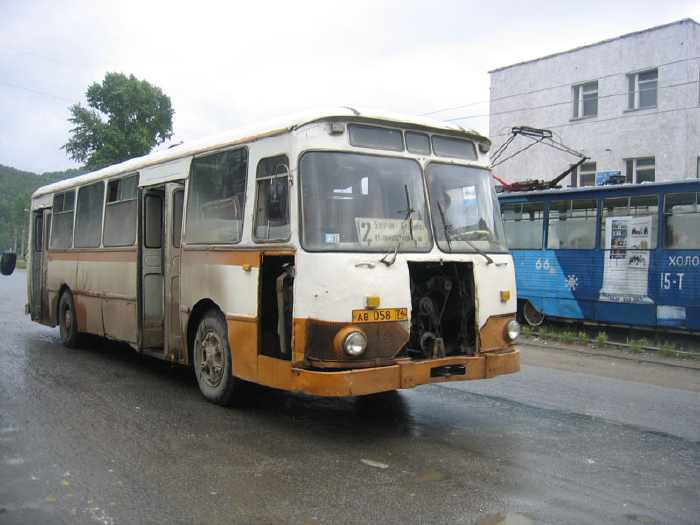 LIAZ Russian bus 1