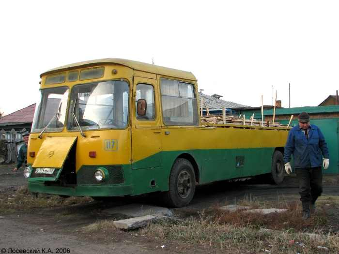 LIAZ Russian bus 5