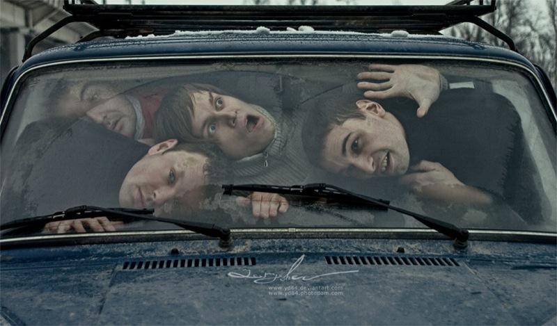 Russian life in car 1