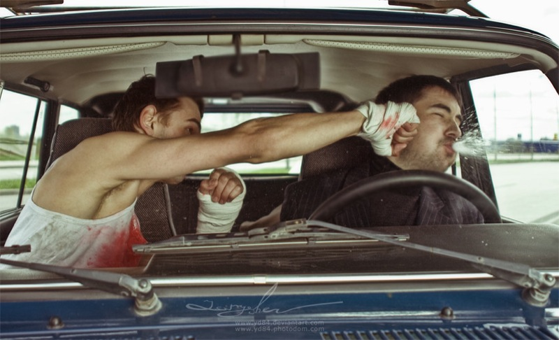 Russian life in car 3