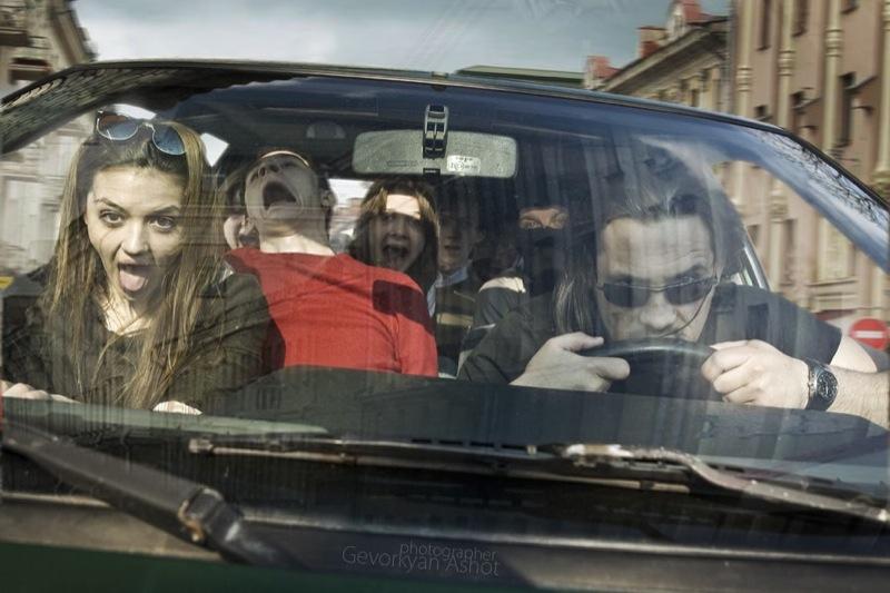 Russian life in car 4