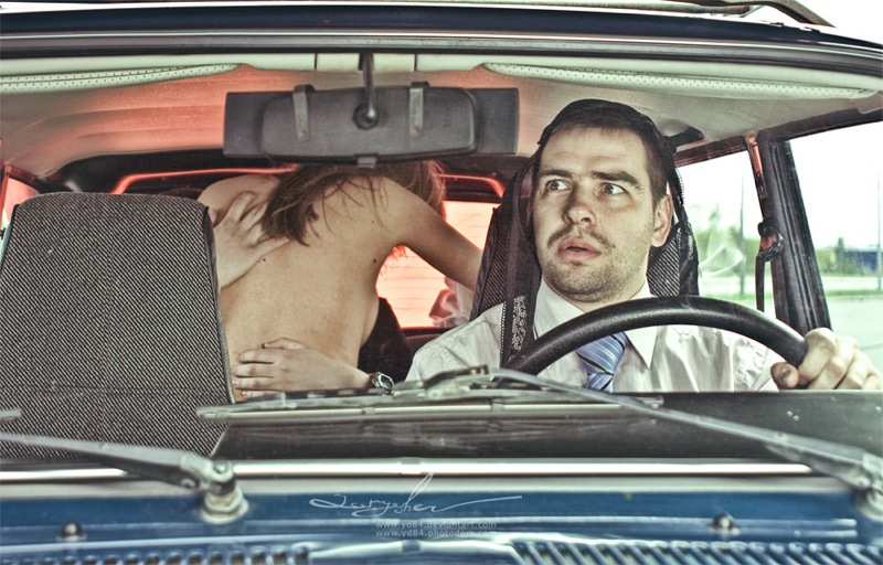 Russian life in car 6
