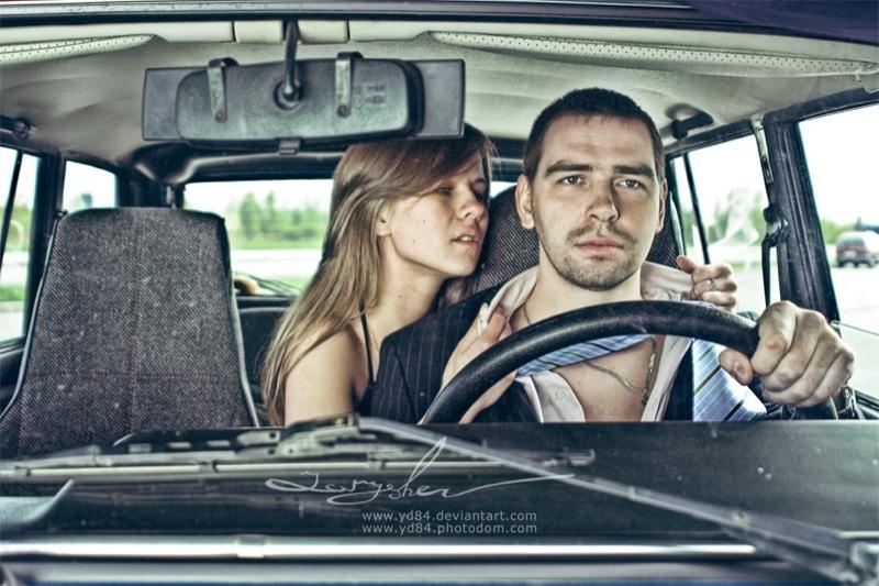 Russian life in car 7