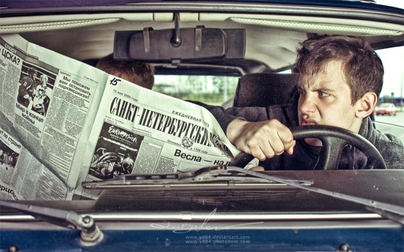 Russian life in car 8