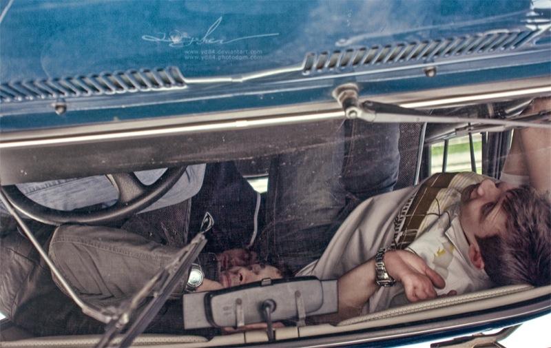 Russian life in car 9