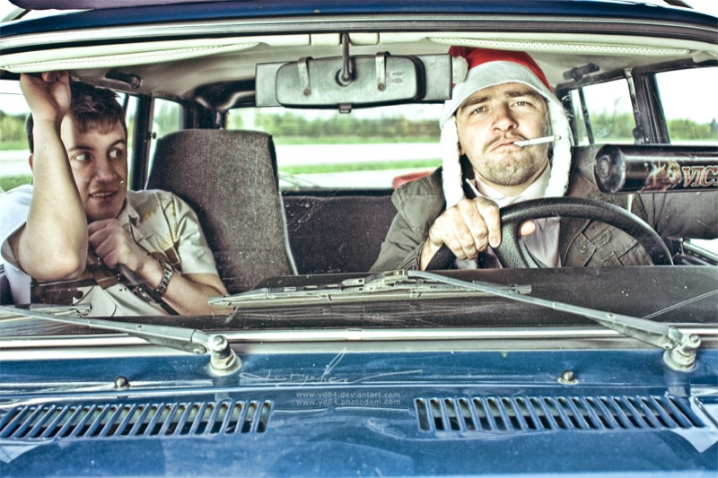 Russian life in car 11