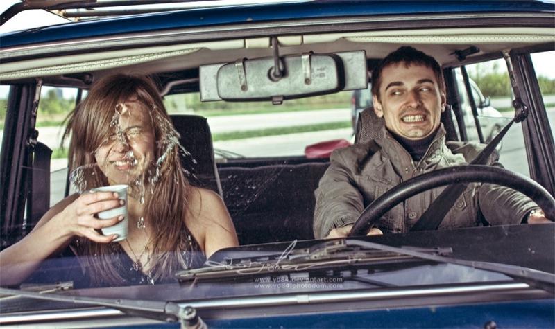 Russian life in car 12