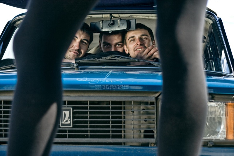 Russian life in car 13