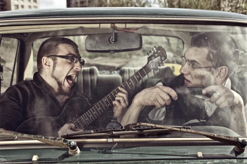 Russian life in car 15