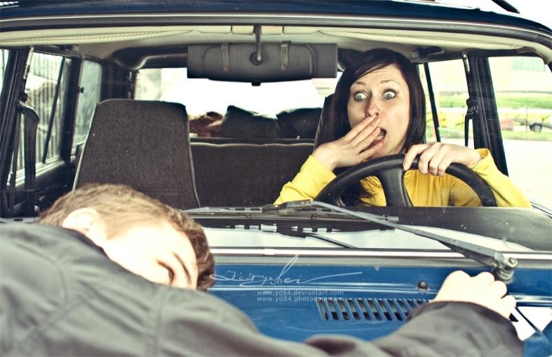 Russian life in car 16