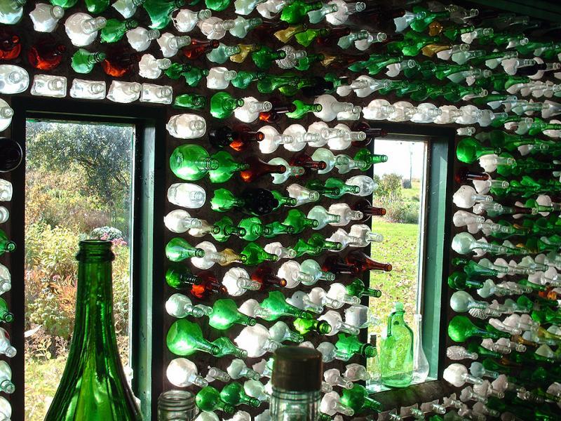 Делаем из стеклянных бутылок своими руками 6