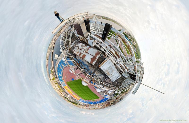 Lighting Posts of the St. Petersburg Stadium  2