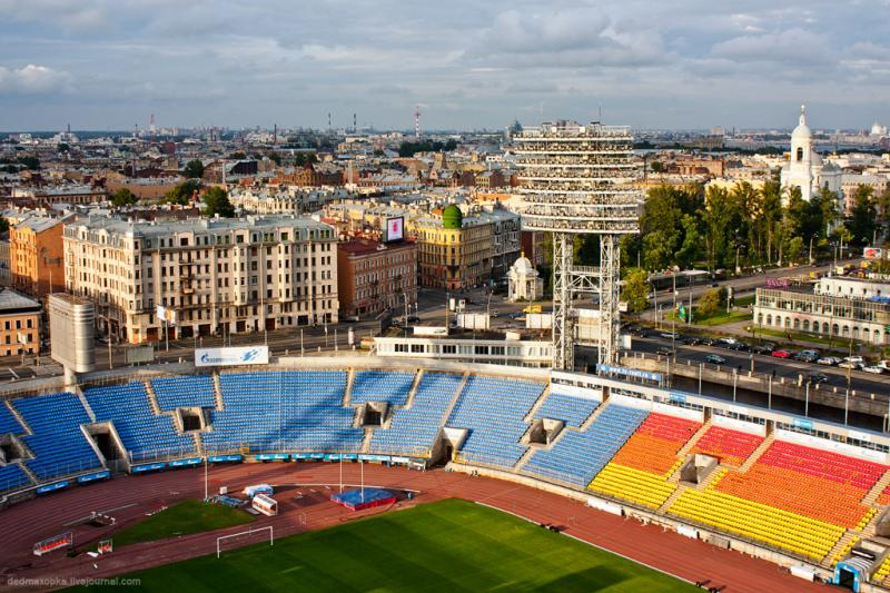 Lighting Posts of the St. Petersburg Stadium  3