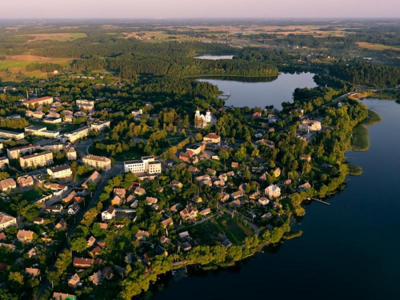Lithuania from Bird's View