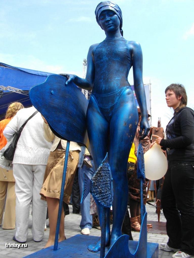 Russian Live Statues 23