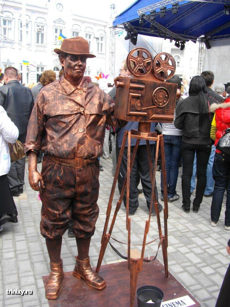 Russian Live Statues 25