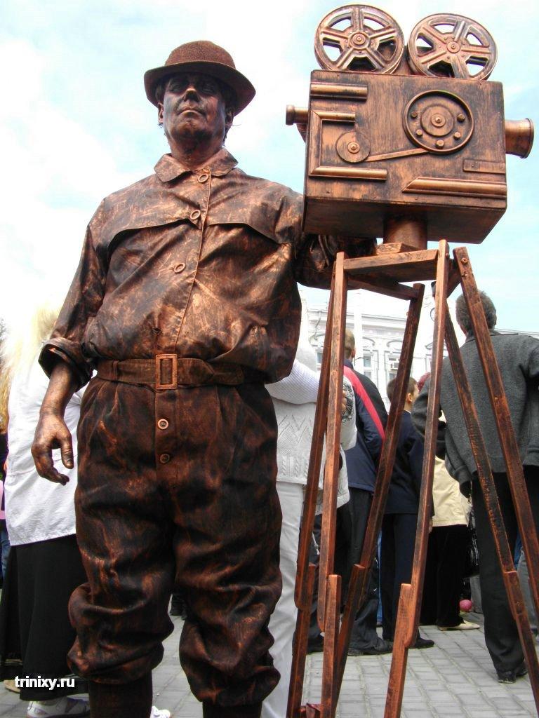 Russian Live Statues 28