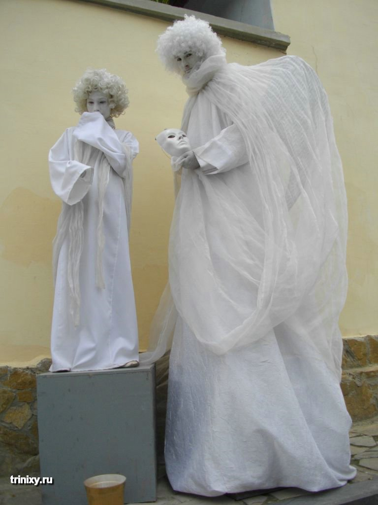 Russian Live Statues 31
