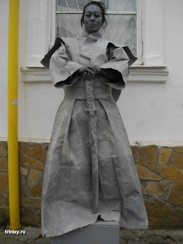 Russian Live Statues 33