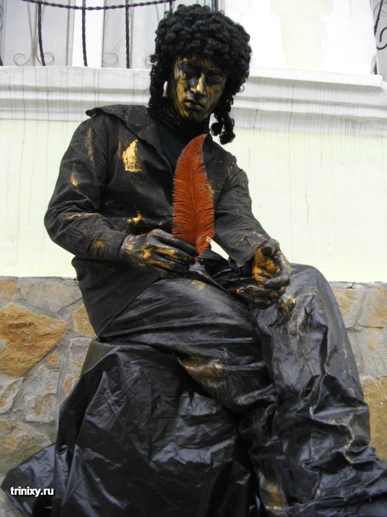 Russian Live Statues 35