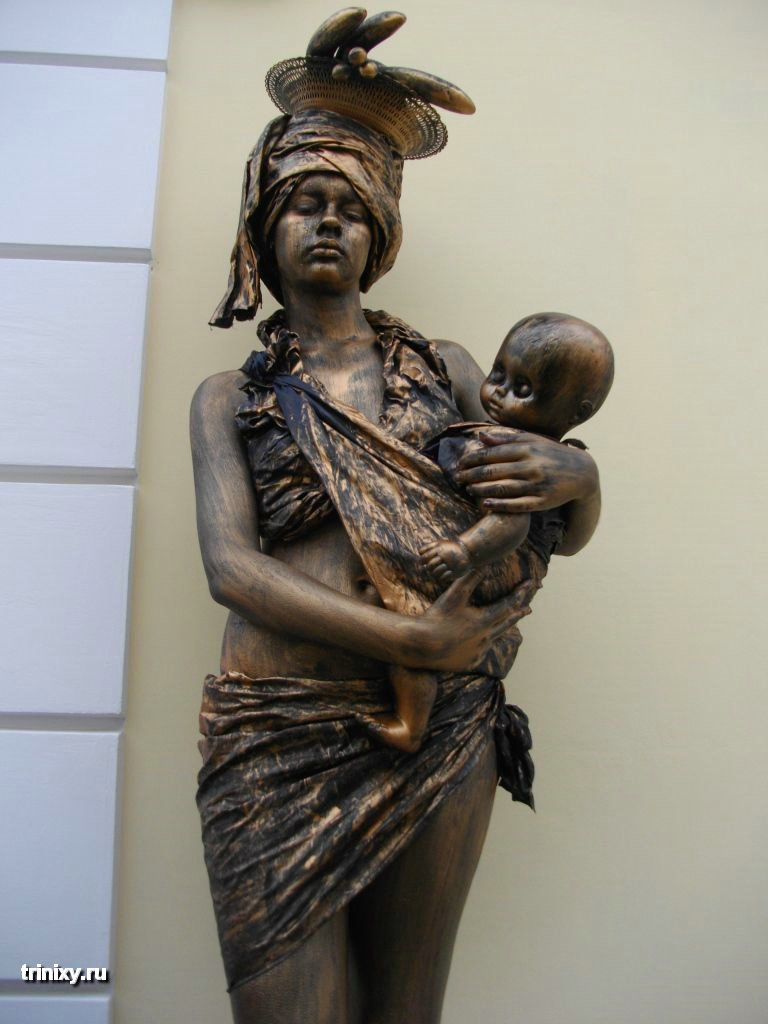 Russian Live Statues 48