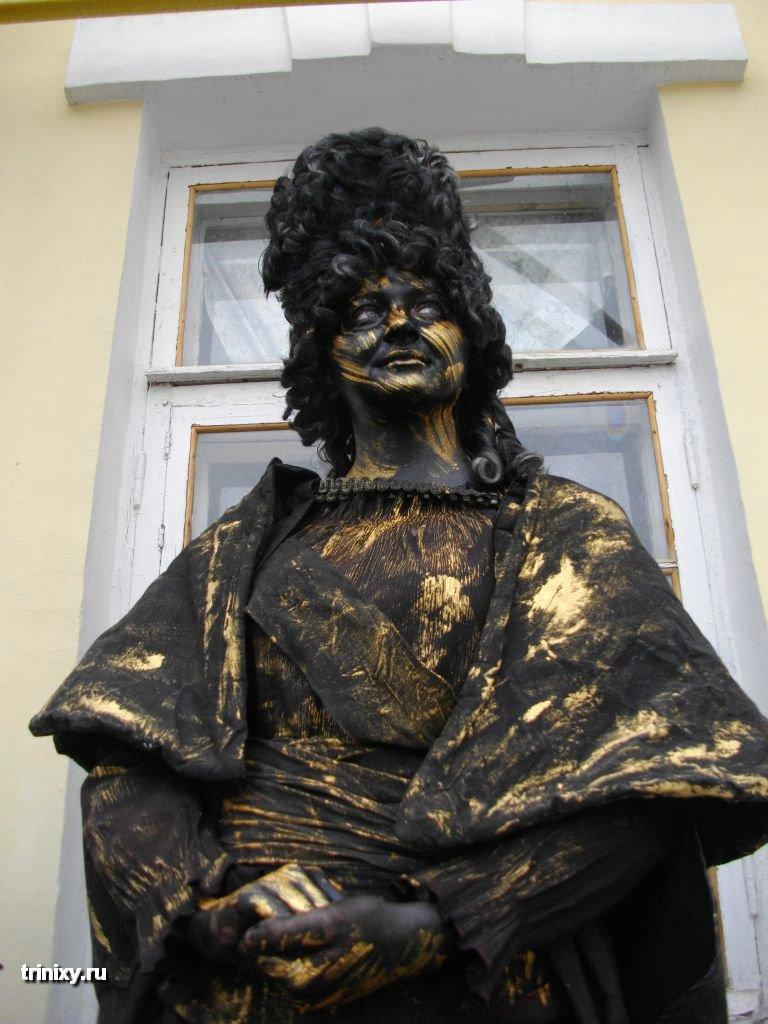 Russian Live Statues 52