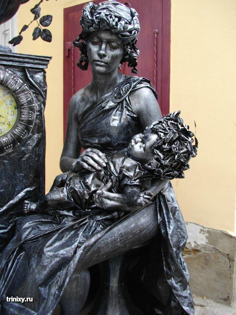 Russian Live Statues 55
