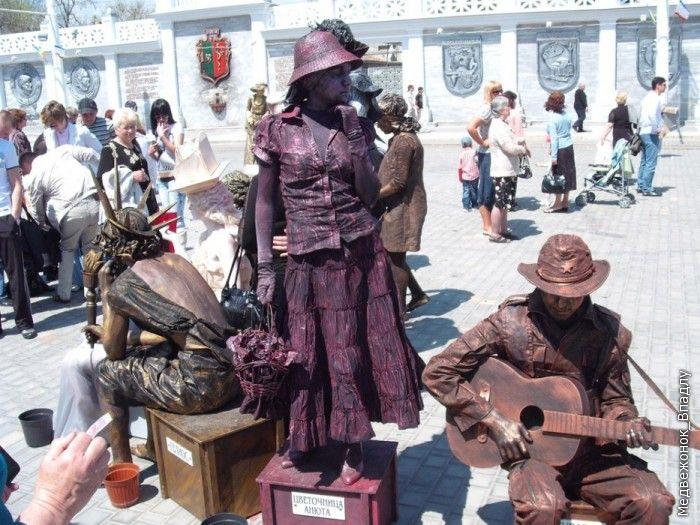 Living Statues Championship In Yevpatoriya 1