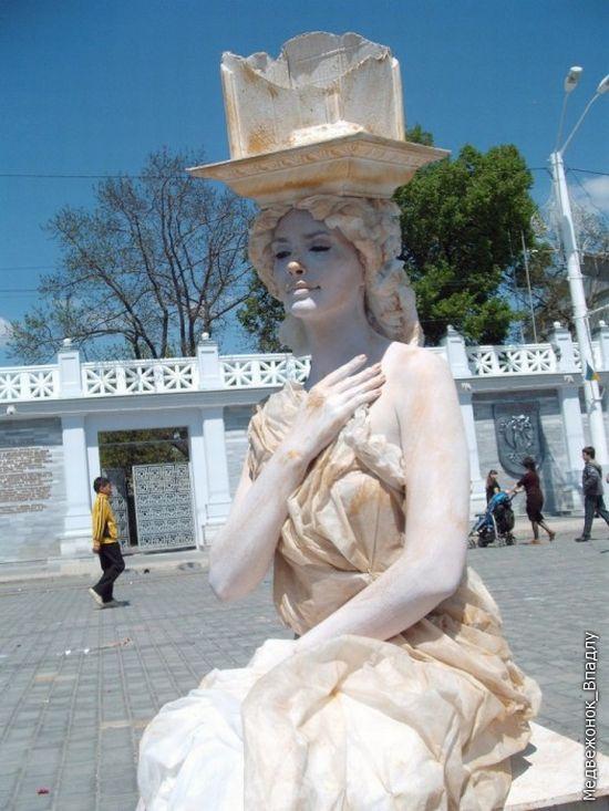 Living Statues Championship In Yevpatoriya 5