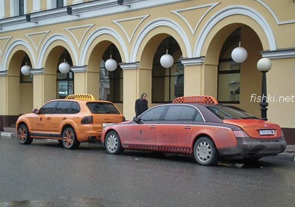 Moscow luxury cabs 1