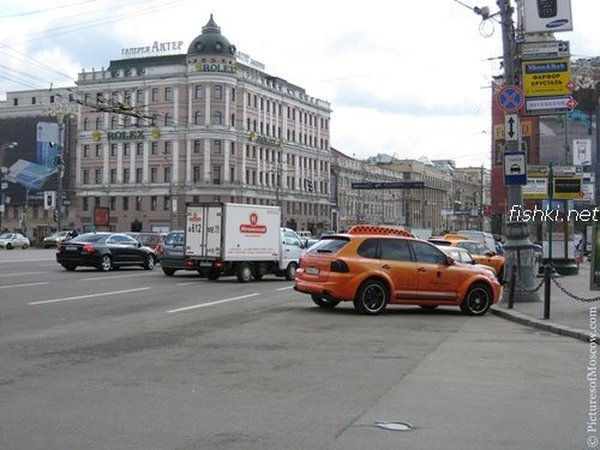 Moscow luxury cabs 2