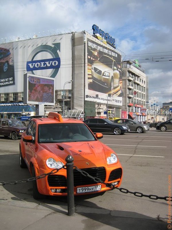 Moscow luxury cabs 3