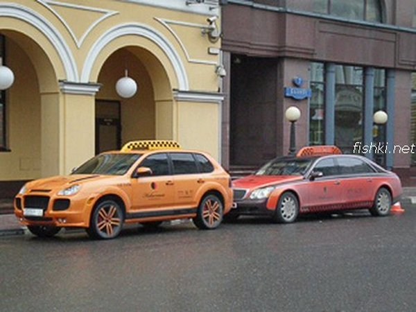 Moscow luxury cabs 5