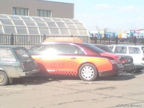 Moscow luxury cabs 6