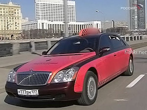 Moscow luxury cabs 8