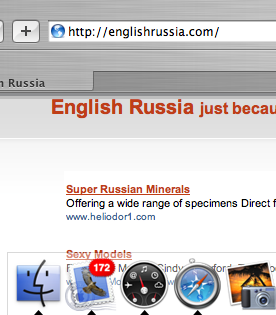 Macintosh finder icon on Russian barbeque set 1