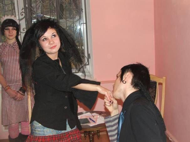 Strange wedding in Ukraine 9