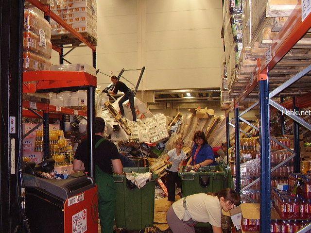 mess in Russian super mart 17